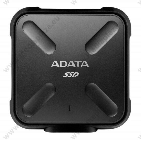 ADATA SD700 2,5 COL USB 3.1 KÜLSŐ SSD MEGHAJTÓ 256GB FEKETE
