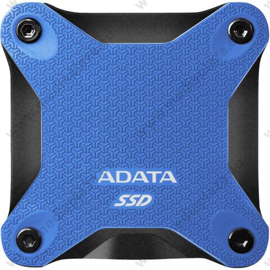 ADATA SD600Q 2,5 COL USB 3.1 KÜLSŐ SSD MEGHAJTÓ 480GB KÉK