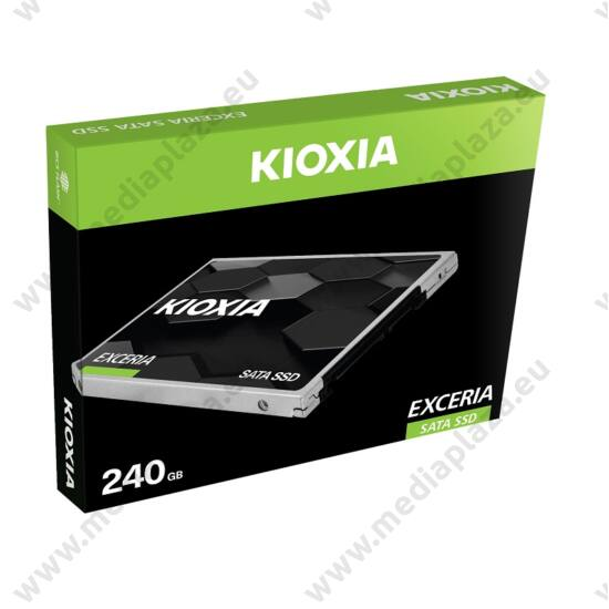 KIOXIA EXCERIA 2,5 COL MÉRETÚ SATA III 550/540 MB/s 7mm SSD MEGHAJTÓ 240GB