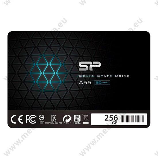 SILICON POWER ACE A55 256GB 2,5 COL SATA3 550/450 MB/s 7mm SSD MEGHAJTÓ