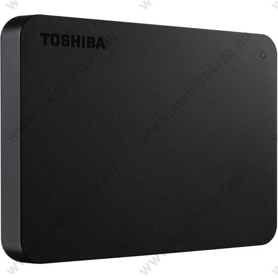 TOSHIBA CANVIO BASICS 2,5 COL USB 3.0 KÜLSŐ MEREVLEMEZ 4TB FEKETE
