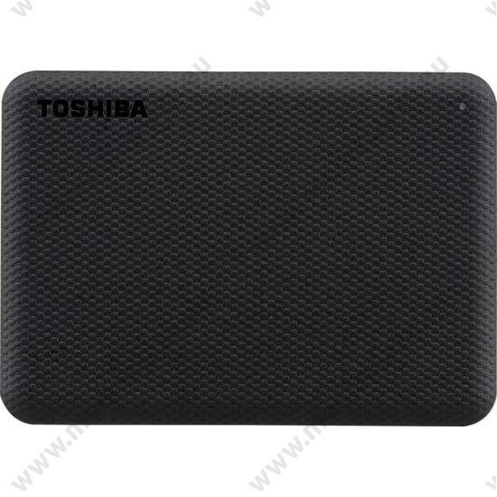 TOSHIBA CANVIO ADVANCE 2,5 COL USB 3.2 GEN 1 KÜLSŐ MEREVLEMEZ 4TB FEKETE