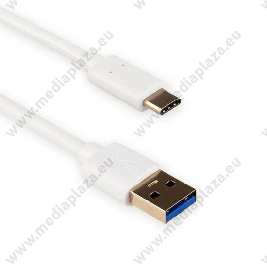 4WORLD USB 3.0 TYPE-C A-MALE/C-MALE KÁBEL 2m FEHÉR