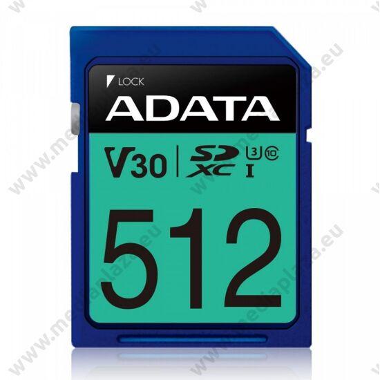 ADATA PREMIER PRO SDXC 512GB CLASS 10 UHS-I U3 V30 100/80 MB/s