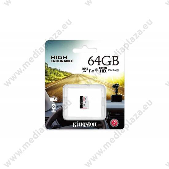 KINGSTON HIGH ENDURANCE MICRO SDXC 64GB CLASS 10 UHS-I U1 A1 95/30 MB/s