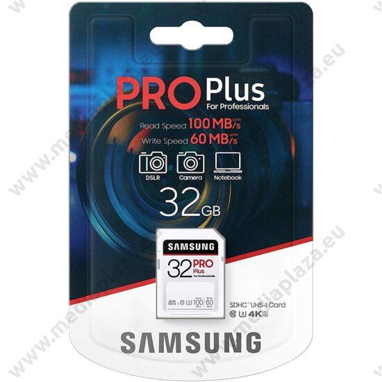 SAMSUNG PRO PLUS SDHC 32GB CLASS 10 UHS-I U3 100/60 MB/s