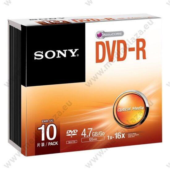 SONY DVD-R 16X SLIM TOKBAN (10)