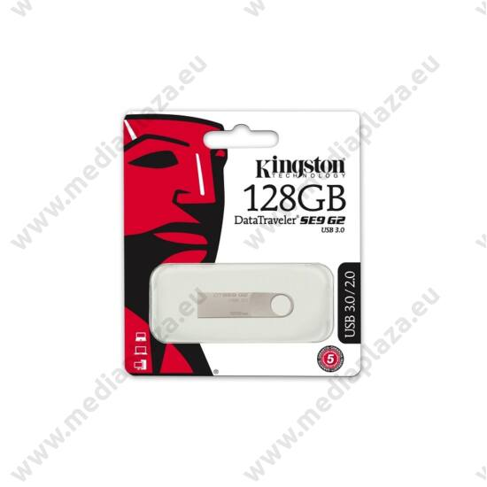 KINGSTON USB 3.0 DATATRAVELER SE9 G2 EZÜST 128GB
