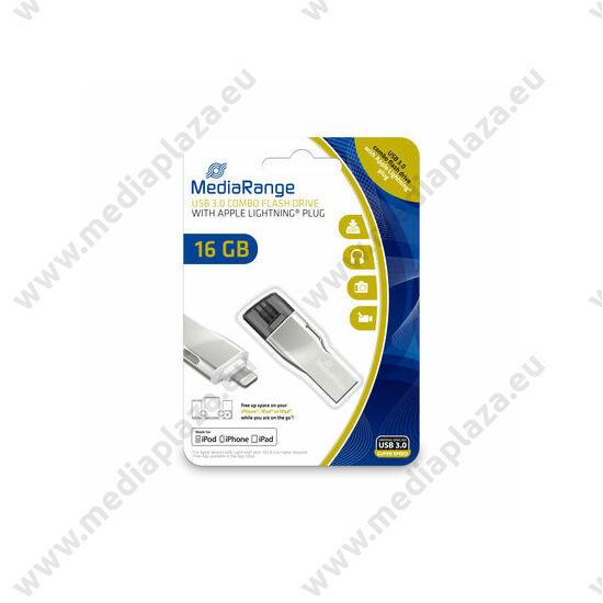 MEDIARANGE COMBO USB 3.0/APPLE LIGHTNING PENDRIVE 16GB MR981