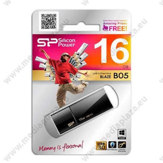 SILICON POWER BLAZE B05 USB 3.0 PENDRIVE 16GB FEKETE