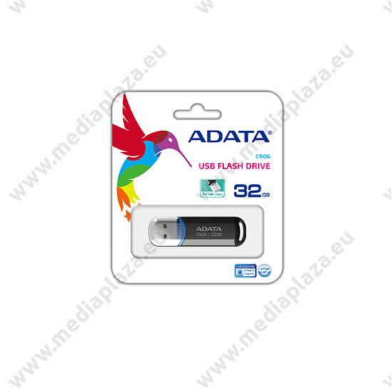 ADATA USB 2.0 PENDRIVE CLASSIC C906 32GB FEKETE