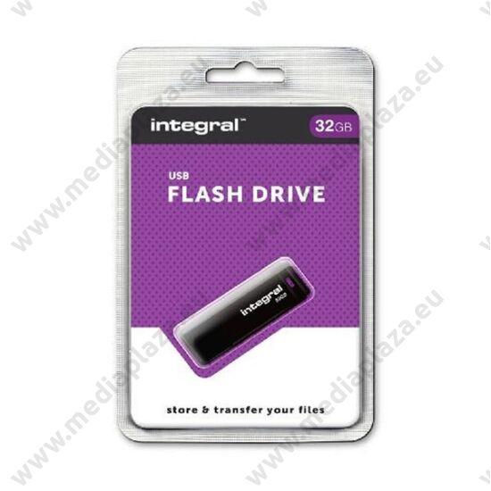 INTEGRAL USB 2.0 PENDRIVE 32GB FEKETE