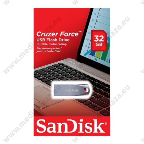 SANDISK USB 2.0 PENDRIVE CRUZER FORCE 32GB
