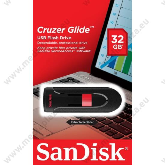 SANDISK USB 2.0 PENDRIVE CRUZER GLIDE 32GB