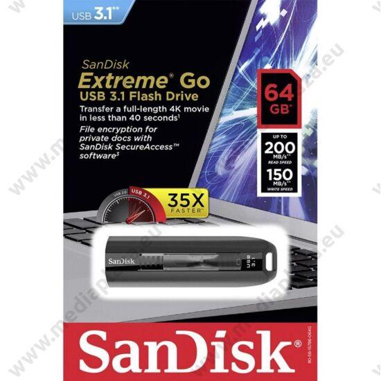 SANDISK USB 3.1 EXTREME GO PENDRIVE 64GB