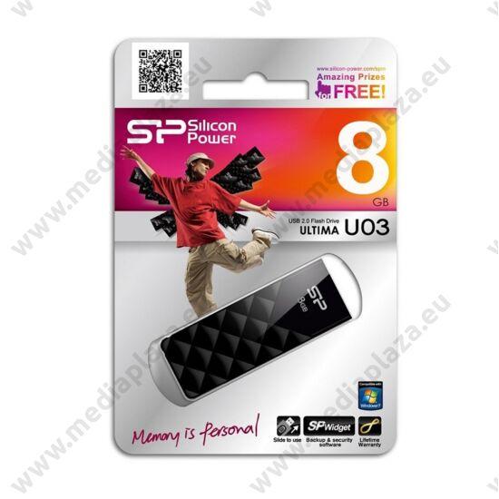 SILICON POWER ULTIMA U03 USB 2.0 PENDRIVE 8GB