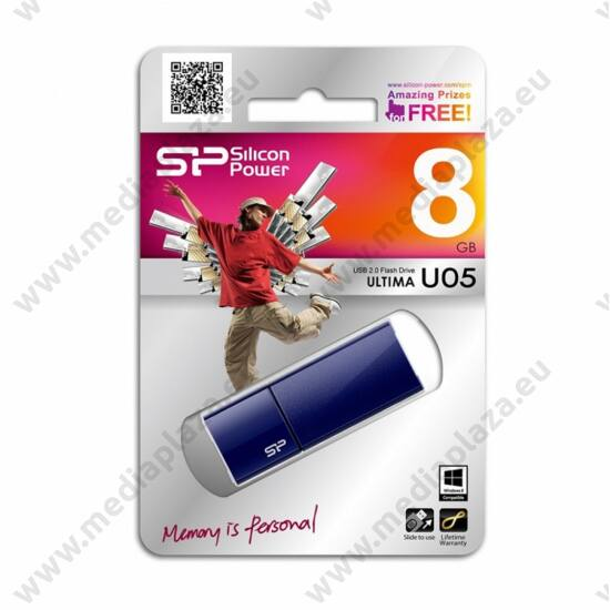 SILICON POWER ULTIMA U05 USB 2.0 PENDRIVE 8GB