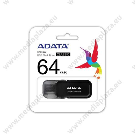 ADATA UV240 USB 2.0 PENDRIVE 64GB FEKETE