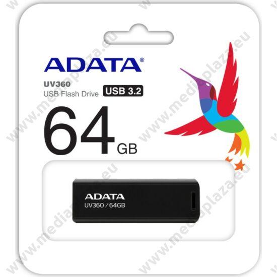 ADATA UV360 USB 3.2 GEN 1 PENDRIVE 64GB FEKETE