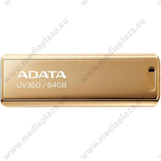 ADATA UV360 USB 3.2 GEN 1 PENDRIVE 64GB ARANY