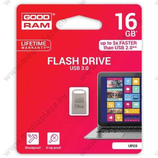 GOODRAM UPO3 FÉMHÁZAS USB 3.0 PENDRIVE 16GB