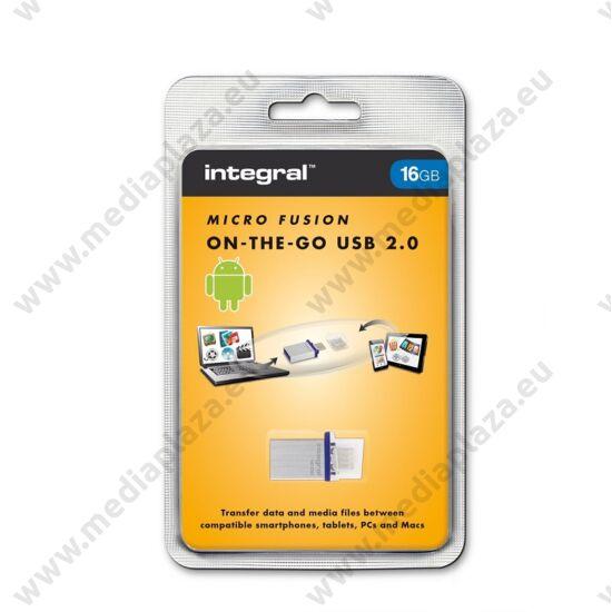 INTEGRAL MICRO FUSION USB 2.0 OTG PENDRIVE 16GB