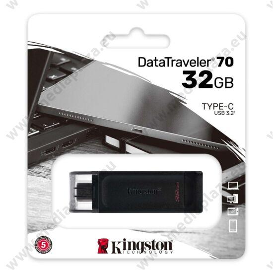KINGSTON DATATRAVELER 70 USB-C 3.2 GEN 1 PENDRIVE 32GB