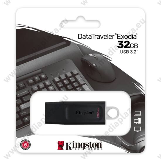 KINGSTON DATATRAVELER EXODIA USB 3.2 GEN 1 PENDRIVE 32GB