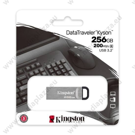 KINGSTON DATATRAVELER KYSON USB 3.2 GEN 1 PENDRIVE 256GB