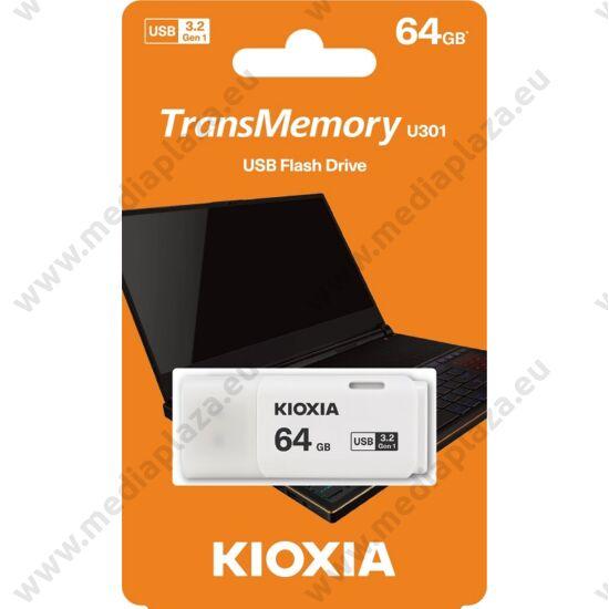 KIOXIA TRANSMEMORY U301 USB 3.2 GEN 1 PENDRIVE 64GB FEHÉR