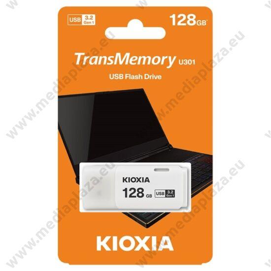 KIOXIA TRANSMEMORY U301 USB 3.2 GEN 1 PENDRIVE 128GB FEHÉR