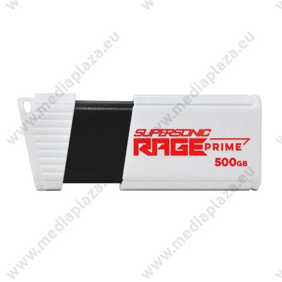 PATRIOT SUPERSONIC RAGE PRIME USB 3.2 GEN 2 PENDRIVE 500GB (600 MB/s ADATÁTVITELI SEBESSÉG)