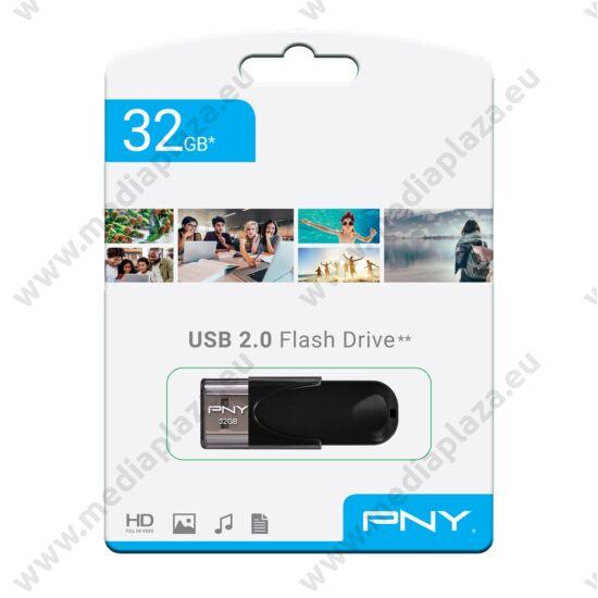PNY ATTACHE 4 USB 2.0 PENDRIVE 32GB FEKETE