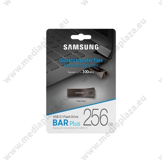 SAMSUNG BAR PLUS USB 3.1 PENDRIVE 256GB SZÜRKE