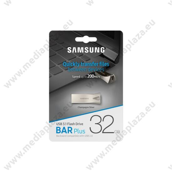 SAMSUNG BAR PLUS USB 3.1 PENDRIVE 32GB EZÜST