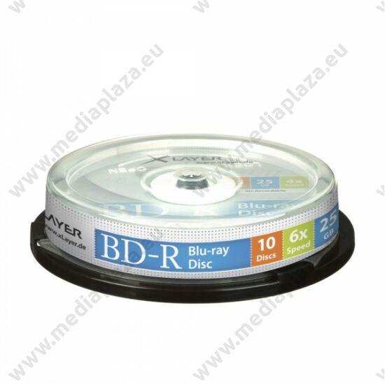XLAYER BD-R 25GB 6X CAKE (10)