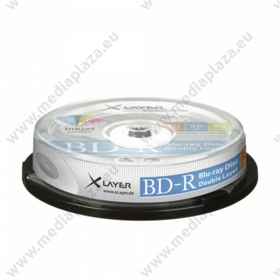 XLAYER BD-R 50GB 6X NYOMTATHATÓ CAKE (10)