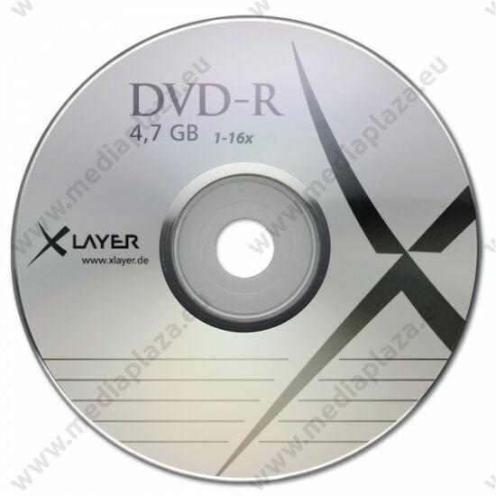 XLAYER DVD-R 16X PAPÍRTOKBAN (10)