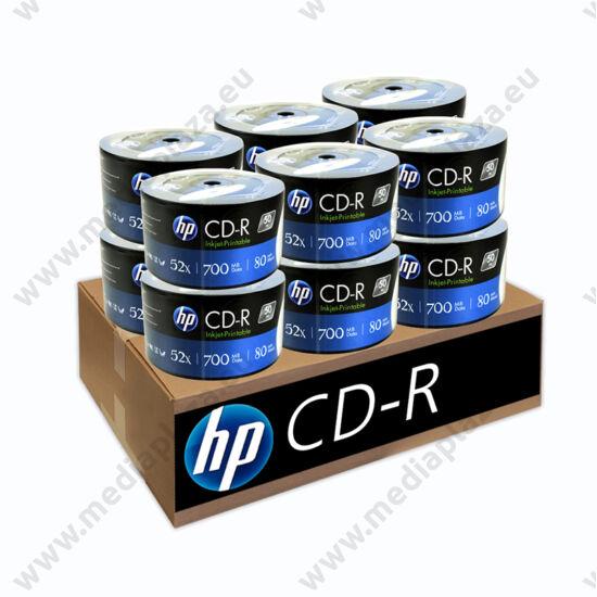 HP CD-R 52X FULL NYOMTATHATÓ 12 X SHRINK (50) XXL CD CSOMAG