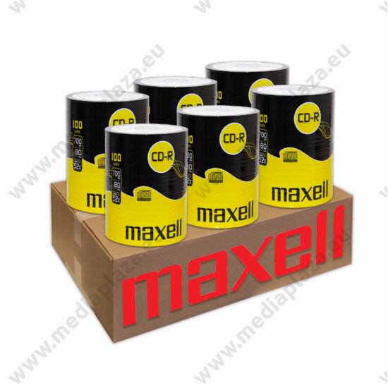MAXELL CD-R 52X 6 X SHRINK (100) XXL CD CSOMAG