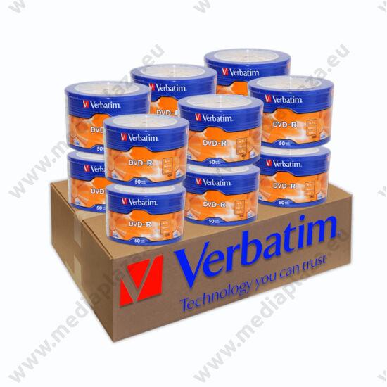 VERBATIM DVD-R 16X 12 X SHRINK (50) XXLDVD CSOMAG