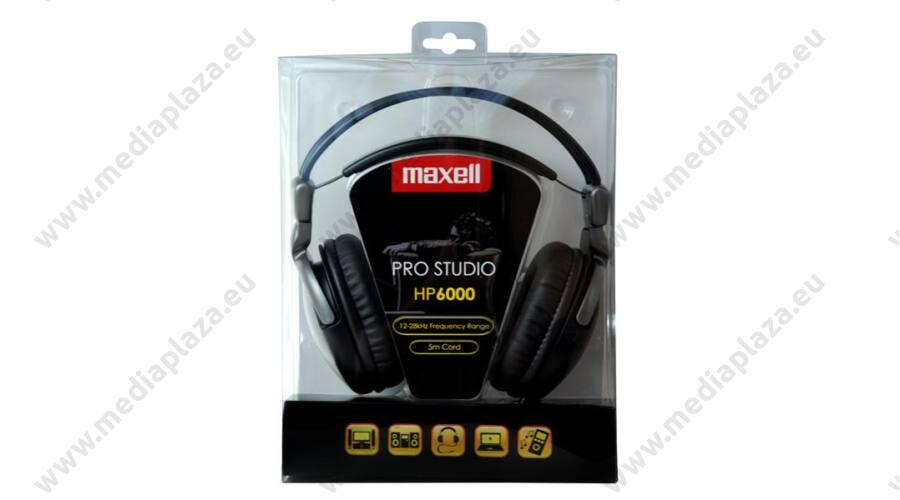 MAXELL HP6000 PRO STUDIO FEJHALLGATÓ - MEDIAPLAZA.EU Memóriakártya ... 2210c182ef